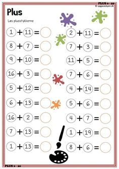 Our goal is to keep old friends, ex-classmates, neighbors and colleagues in touch. Math Addition Worksheets, Math Coloring Worksheets, Kindergarten Math Activities, Kindergarten Math Worksheets, Preschool Math, Numbers Preschool, Logic Math, Math For Kids, Math Lessons