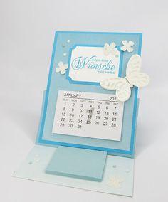 Tischkalender mit Post it´s