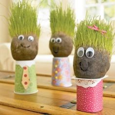 Grass Head People. Good Spring Project