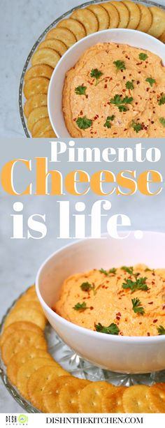 This recipe should come with a stern warning. If this is your first time encountering the wonder that is Pimento Cheese, there's a 95% chance you will become obsessed. Cheese Dishes, Cheese Recipes, Sandwich Spread, How To Make Cheese, Food Processor Recipes, What Is Pimento Cheese, Cheddar Cheese, A Food, Stuffed Peppers