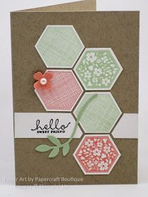 Papercraft Boutique: PPA246: A Color Challenge