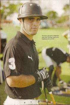 """Rodrigo Andrade from Brazil - """"He's a bull on the field"""", is the way one polo aficionado put it when describing the playing style of Brazilian 8-goaler."""