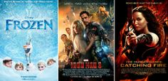 Year-End: Top 10 Domestic Grossers Of 2013 – 'Iron Man 3′ Is No. 1, 'Frozen' Surges & Overtakes 'Gravity' For 6th Spot