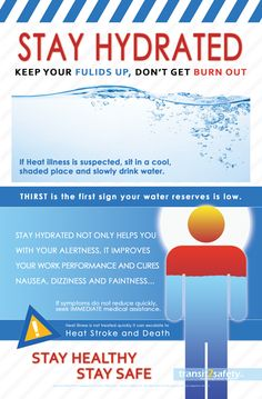 Businesses need to communicate with their employees about safety on a regular basis. Health And Safety Poster, Safety Posters, First Aid Tips, Heat Stress, Safety Awareness, Water Safety, Safety Training, Workplace Safety, Stay Hydrated