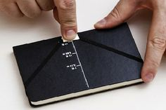 "Moleskin ""Shooting"" Notebook."