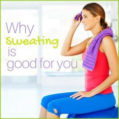 Have you ever wondered why some people sweat more than others? We've got everything you need to know about sweat, including why sweating is good for you!