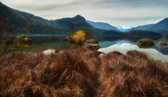 Early Autumn, Austria, Reflection, Mountains, Nature, Travel, Naturaleza, Viajes, Destinations