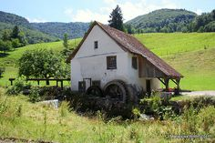 Old mill near Beinwil, Switzerland