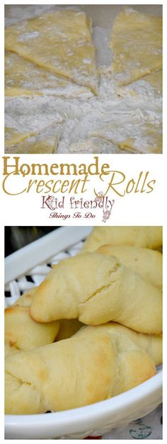 The best homemade Crescent Rolls! Make ahead and freeze for company or the…