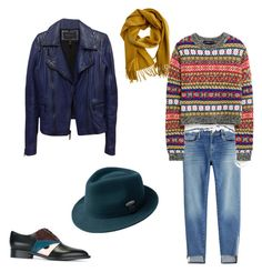 """Leisure time"" by unabulgara on Polyvore featuring kangol, Fendi, Frame, BCBGMAXAZRIA and Hermès"