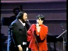Για αν ξεφύγουμε λιγάκι ...Luciano Pavarotti e Liza Minnelli. Stevie Wonder, Luciano Pavarotti. Sarah Brightman & Andrea Bocelli ... | ειδησεις