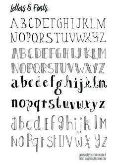 CLICK TO DOWNLOAD LETTERS AND FONTS PAGE 1.