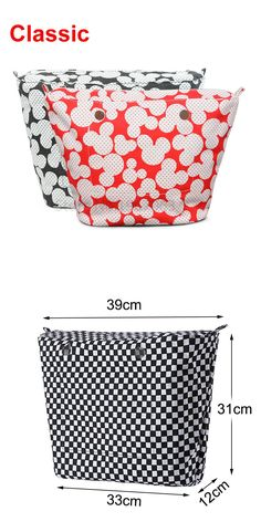 [Visit to Buy] 1 piece Colourful  Insert Lining Inner Pocket For Classic Big Obag o bag women's should bags Totes Handbags #Advertisement