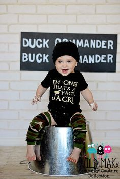 It's my birthday. That's a fact, jack.  Duck Dynasty Inspired Birthday Shirt or Onesie - Customize for any age on Etsy, $25.00