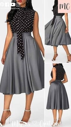 Cute Dress Outfits, Classy Work Outfits, Chic Outfits, Casual Dresses, Fashion Outfits, Dress Fashion, Elegant Dresses Classy, Elegant Dresses For Women, Classy Dress