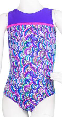 Textured Yarn Curve Leotard #leotard #gymnastics #gymnast #leotards