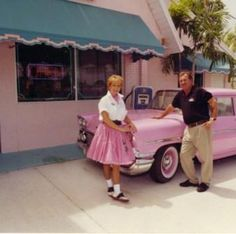 The 50's are the greatest memories to many of us at Ellie's Diner.