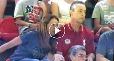 Pais De Atleta Olímpica Têm Reação Hilariante Enquanto Assistem à Prova Da Filha http://www.desconcertante.com/pais-de-atleta-olimpica-tem-reacao-hilariante-enquanto-assistem-prova-da-filha/