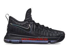 Chaussure Homme Nike KD 9 Prix Pas Cher Noir Bleu 843392-410, - Nice Sport Club - Boutique Chaussures De Nike Pas Cher En Ligne,