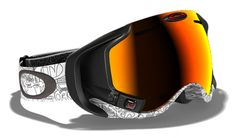 Airwave™ Factory Text White w/ Fire Iridium Lens