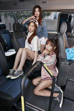 Hyeyeon, Soyee and Sejeong