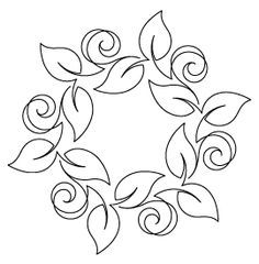 Stencils - Quilts Complete - Continuous Line Quilting Patterns--lots of stencils to order Embroidery Designs, Crewel Embroidery, Vintage Embroidery, Machine Embroidery, Japanese Embroidery, Beginner Embroidery, Hungarian Embroidery, Brazilian Embroidery, Paper Embroidery