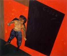 Sandro Chia, Ossa, cassa, fossa 1978, private collection, courtesy Galleria 1000eventi, Milan
