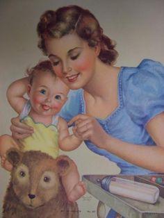 Bébés d'antan