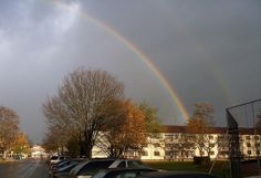 Double Rainbow - Mannheim-Kaefertal, Germany by AerO2M, via Flickr
