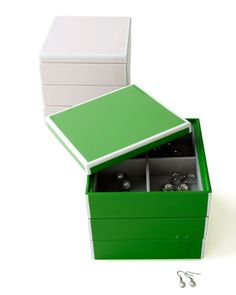 """""""Elle"""" Stacking Jewelry Box"""