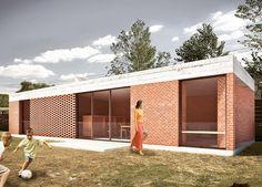 "28 Me gusta, 1 comentarios - TATÚ (@tatuarq_) en Instagram: ""Barbacoa Vera. #enobra #tatuarquitectura #arquitectura #archilovers #barbacoa #ladrillovisto #brick"""
