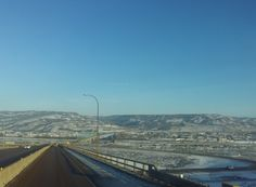 Looking southeast and down on the bridge and town of Peace River, Alberta. Almost all ice road loads take this route to Northwest Territories. Northwest Territories, Reality Tv Shows, All Over The World, Offroad, Paris Skyline, Northern Lights, Bridge, Road Trip, Photos