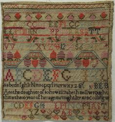 Love this sampler style