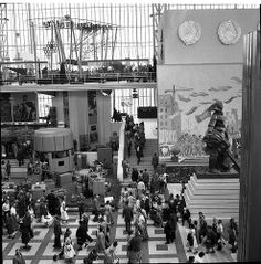07 02 Expo '58 USSR pavilion | Flickr - Photo Sharing!