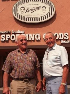 THE SPORTSMAN: Chet and Link Piazzo opened the Sportsman