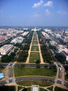 View From the Top of the Washington Monument...want to see what it looked like 100 years ago? Follow the link...