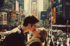 Darte un beso en NYC