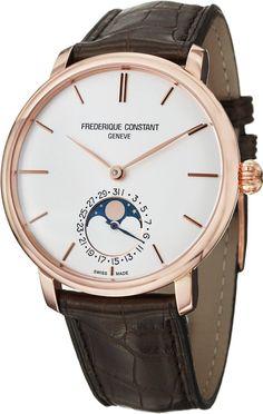 Men Watches Frederique Constant Slim Line Men's Automatic Watch FC-705V4S4