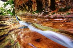 """""""The Chute"""" Zion National Park"""
