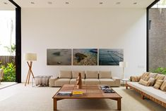 Living Room Condominio Baleia By Arthur Casas