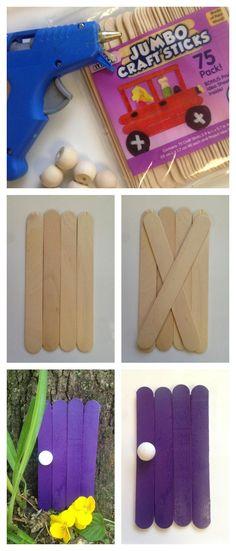 Fairy Garden Decorations: Fairy Door Craft Idea for kids - http://iSaveA2Z.com