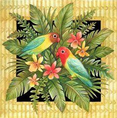 Medium Decoupage, Flower Images, Flower Art, Painting & Drawing, Watercolor Paintings, Art Carte, Decorative Bird Houses, Floral Printables, Clip Art