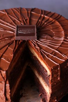 Here's for you the deliciously awesome Best Ever Chocolate Cheesecake Cake. So just go and grab this recipe now!