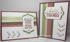 Would this be nice for a Stamp-A-Stack! Christmas messages washi - two cool