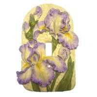 Lowe's Home Improvement Switch Plate Covers, Light Switch Plates, Bearded Iris, Lowes Home Improvements, Plates On Wall, Delta Phi, Outlets, Purple, Sorority