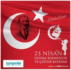 23 Nisan Ulusal Egemenlik ve Çocuk Bayramı Kutlu Olsun... :)