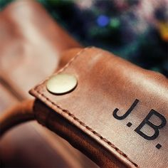 Personalized Gift for Men - Leather Bag with His Initials. Shop now ... 2cc5d9cbab75a