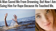 Cassidy Boon Claiming She Was Raped By Man Who Rescued Her From Drowning Is A Fake Story