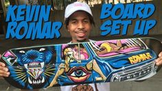 KEVIN ROMAR BOARD SET UP & INTERVIEW !!!: WATCH MORE BOARD SET UPS HERE… #Skatevideos #board #interview #kevin #romar