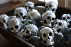 4 Of The Spookiest Halloween Decorations Using Rhinestones And Nailheads